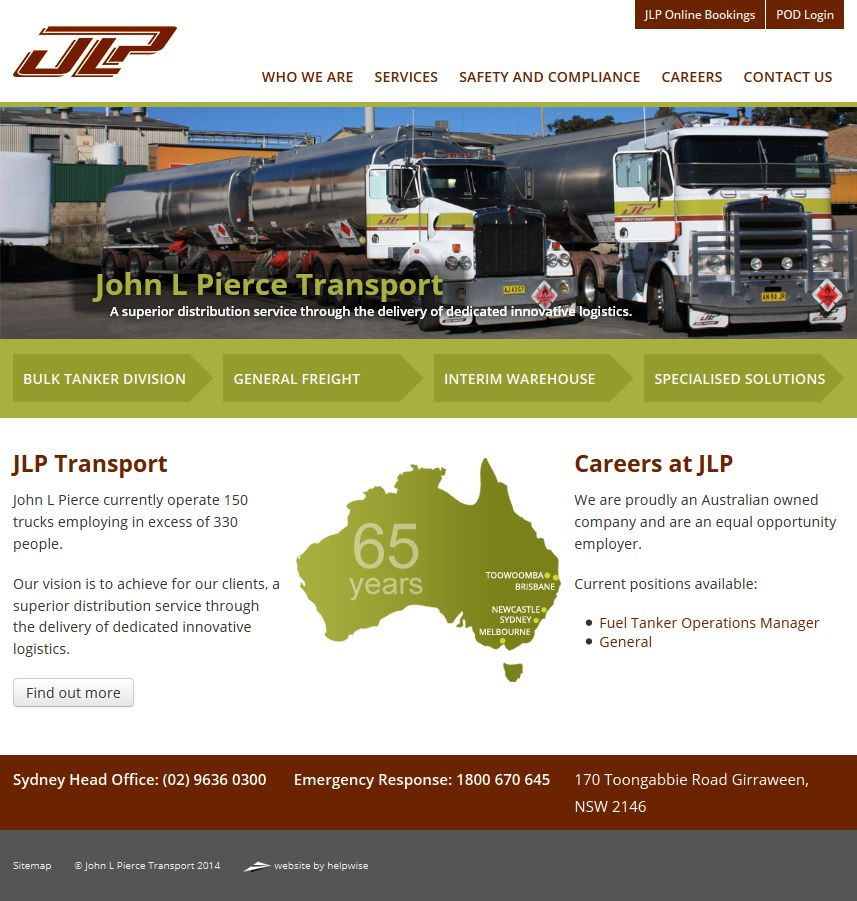 John L Pierce Transport