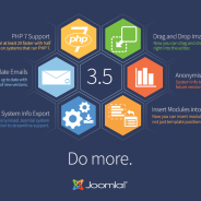 Joomla! 3.5  – new features including PHP 7 Support – awesome!
